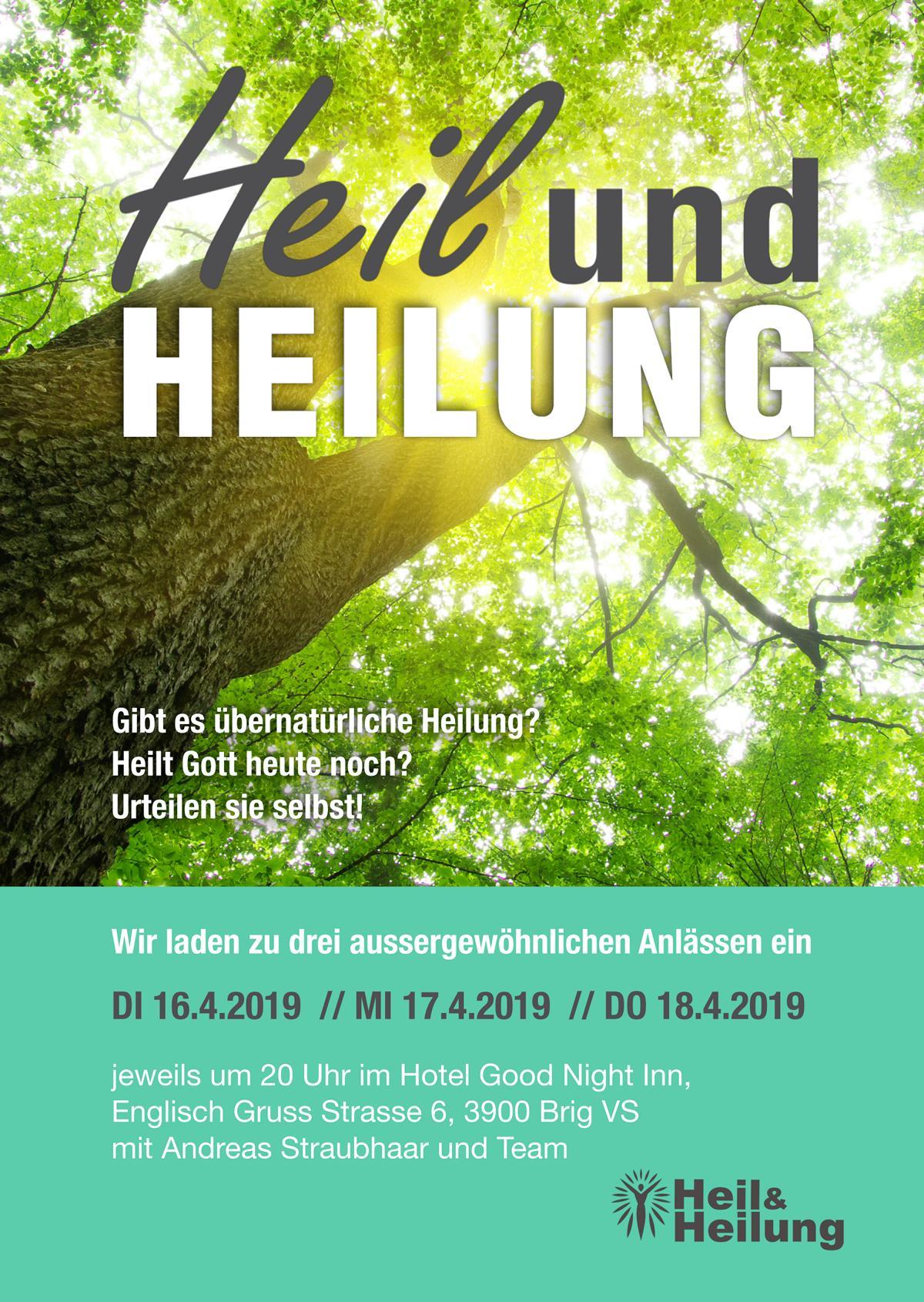 Heil und Heilung @ CZB   Glis   Wallis   Schweiz